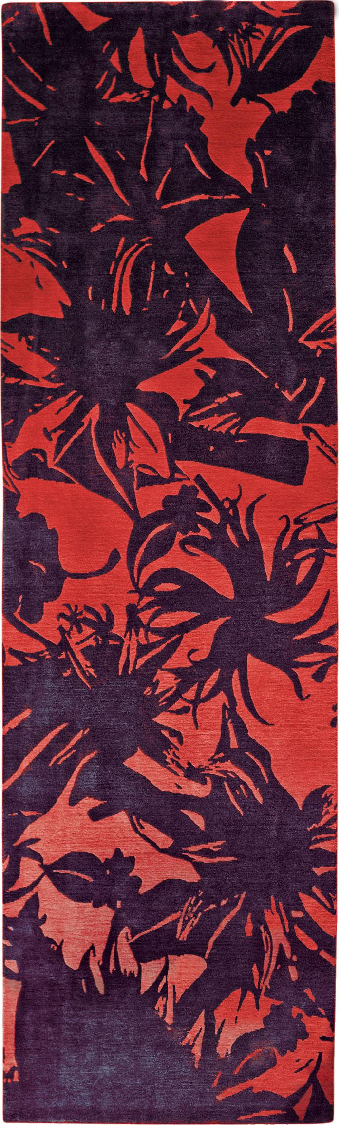 Jungle Floral Silhouette
